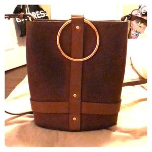Vince Cameron crossbody in brown leather